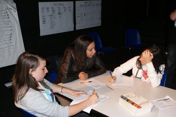 Atelier écriture à Pau avril 2010